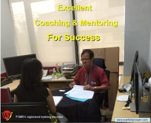 Excellent Coaching and Mentoring For Success