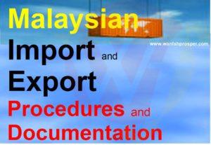 MALAYSIAN IMPORT & EXPORT PROCEDURES & DOCUMENTATION Training